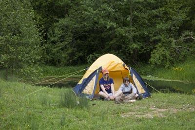 Nearly Wild Camping